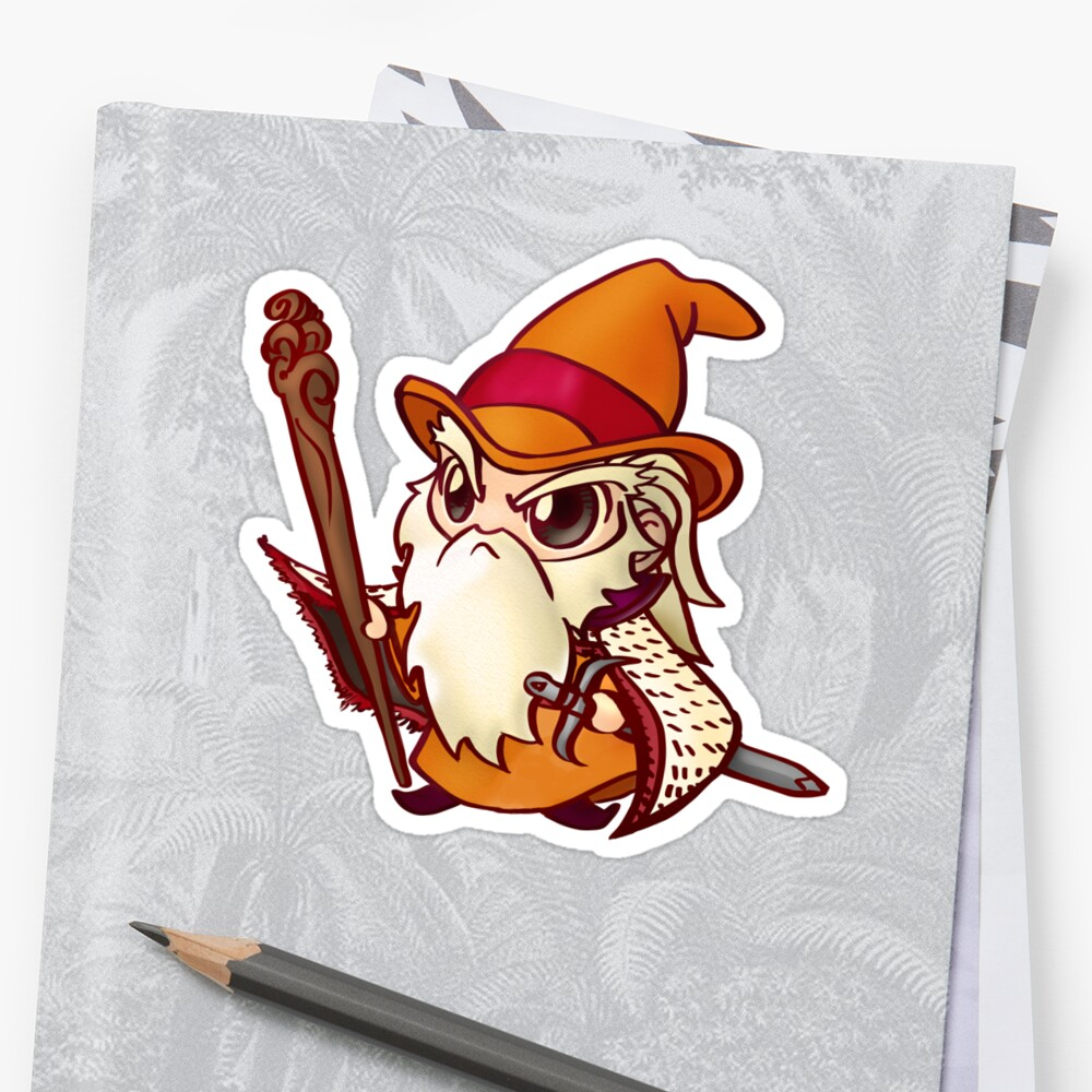 Wizard Chibi by Figment Forms