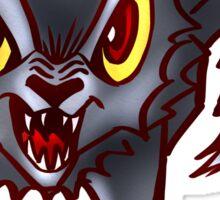 Dire wolf Sticker
