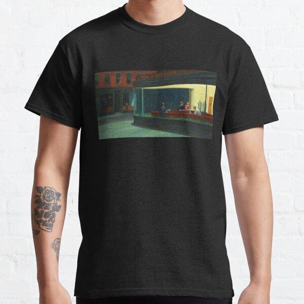 Nighthawks by Edward Hopper 1942 Classic T-Shirt