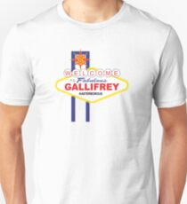 Dr Who - Welcome to Gallifrey T-Shirt