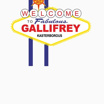 Dr Who - Welcome to Gallifrey by dgoring