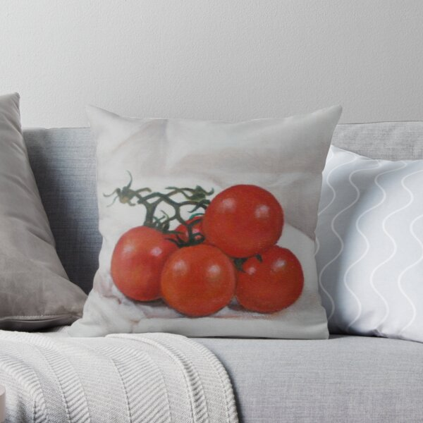 Tomatoes 2 Throw Pillow