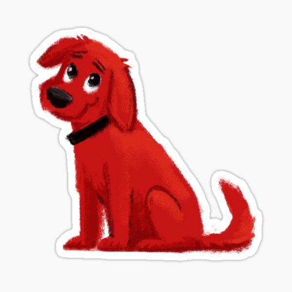 Clifford the Big Red Dog Sticker