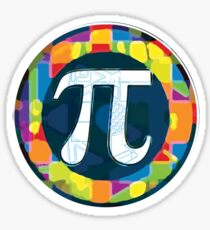 Pi Day Symbol 4 Sticker