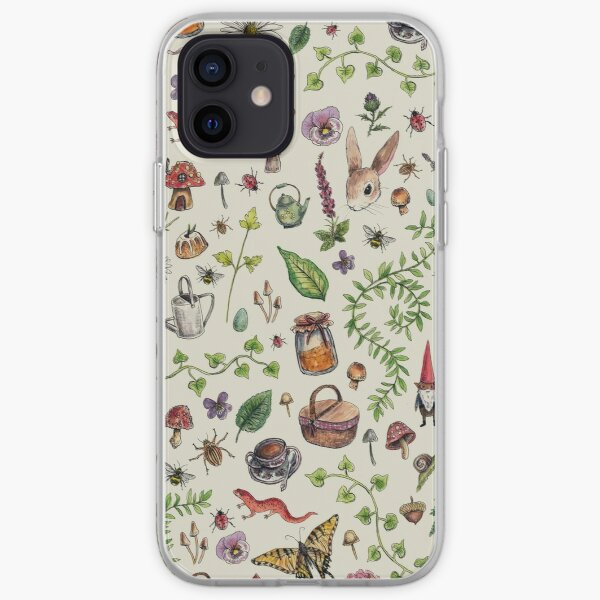 Cottagecore light green iPhone Soft Case