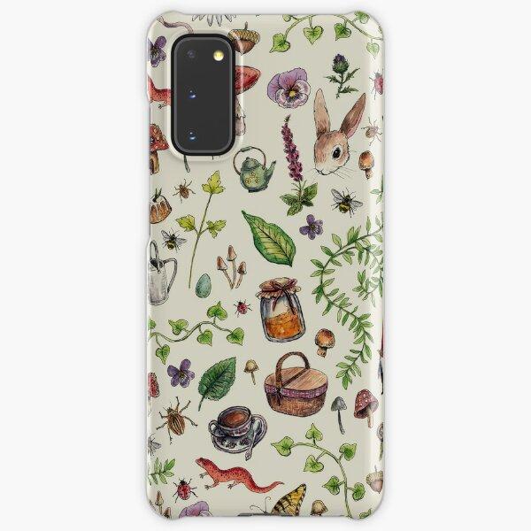 Cottagecore light green Samsung Galaxy Snap Case