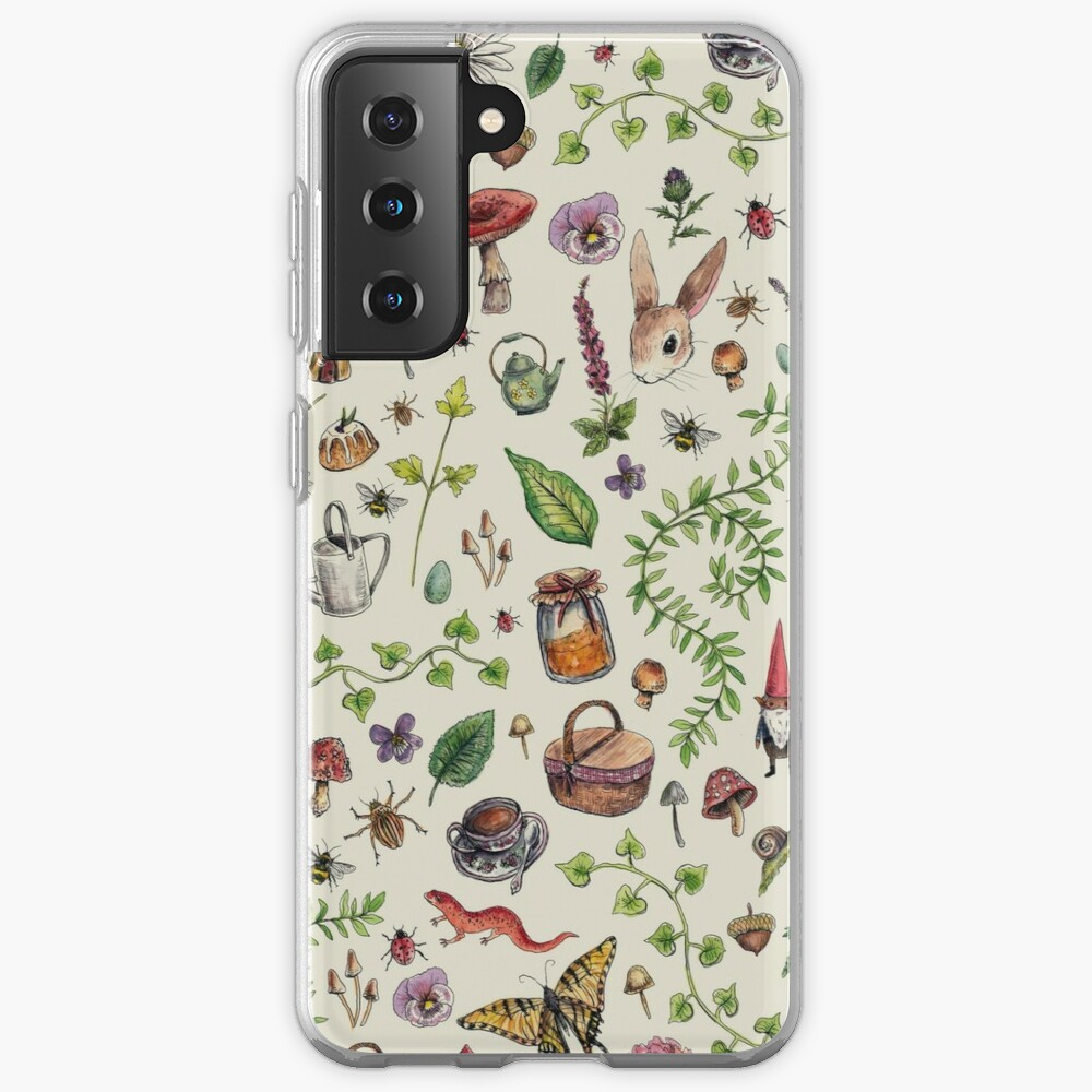 Cottagecore light green Case & Skin for Samsung Galaxy