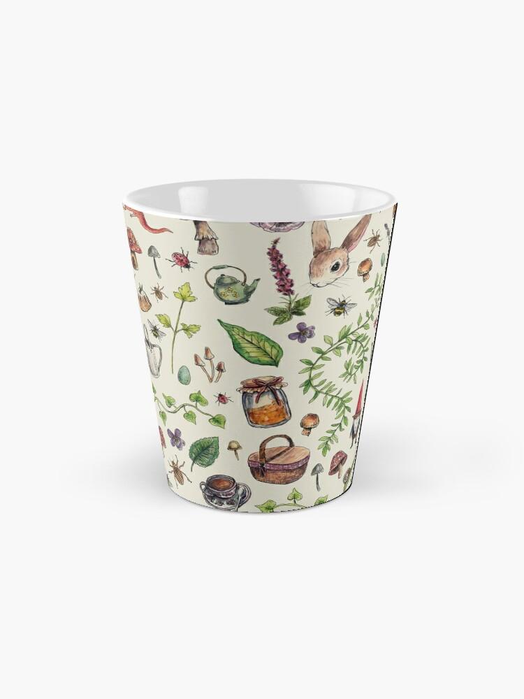 Alternate view of Cottagecore light green Mug
