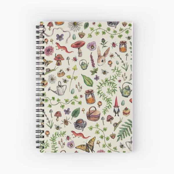 Cottagecore light green Spiral Notebook