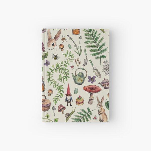 Cottagecore light green Hardcover Journal