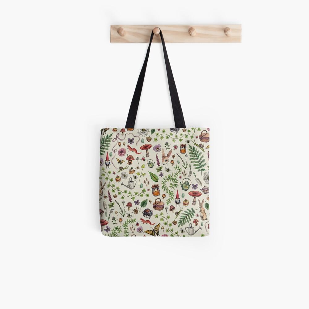 Cottagecore light green Tote Bag