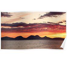 Jura Sunset Poster