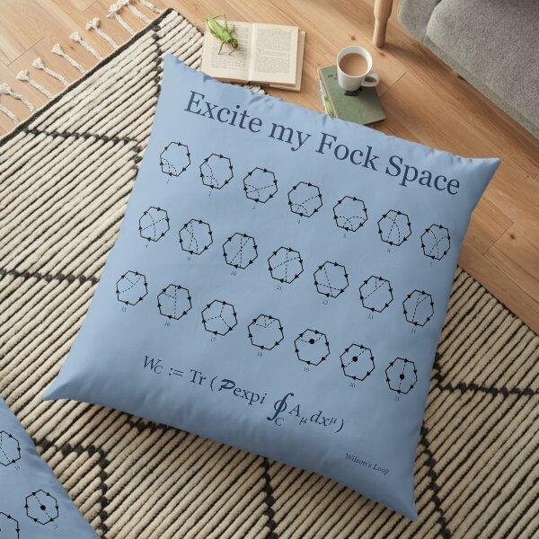 Fock Space Floor Pillow