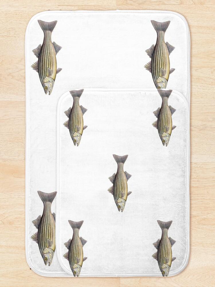 Alternate view of Striped Bass (Morone saxatilis) Bath Mat