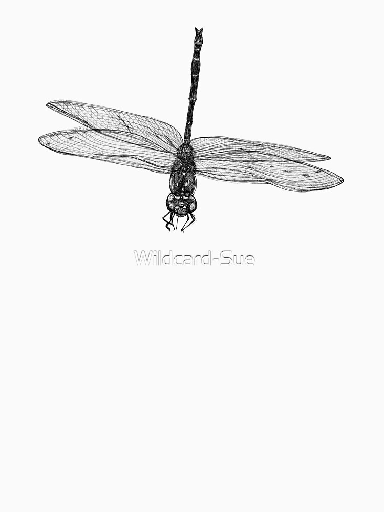 Marie the Dragonfly  by Wildcard-Sue