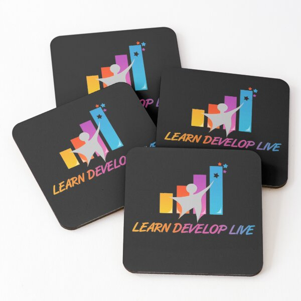Learn Develop Live Coasters (Set of 4)