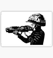 Kids with Guns sticker Sticker
