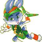 Sugar Rush Easter Bunny by bliz