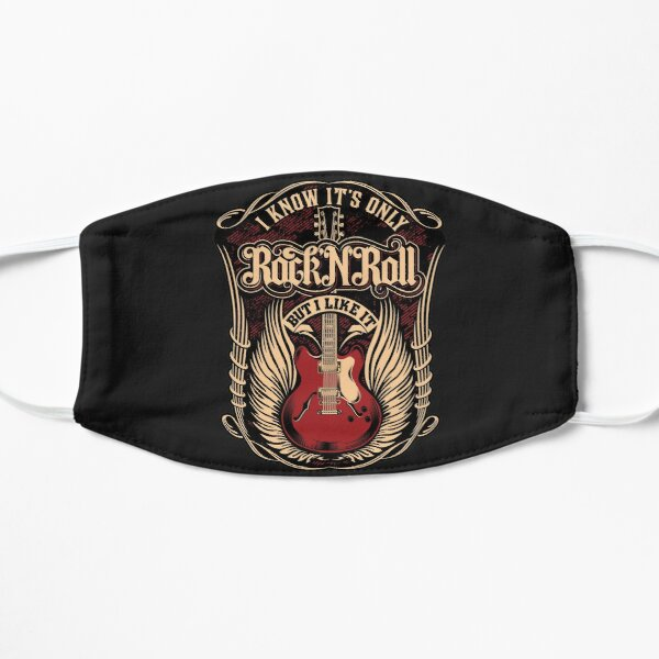 it's only rock and roll Mask