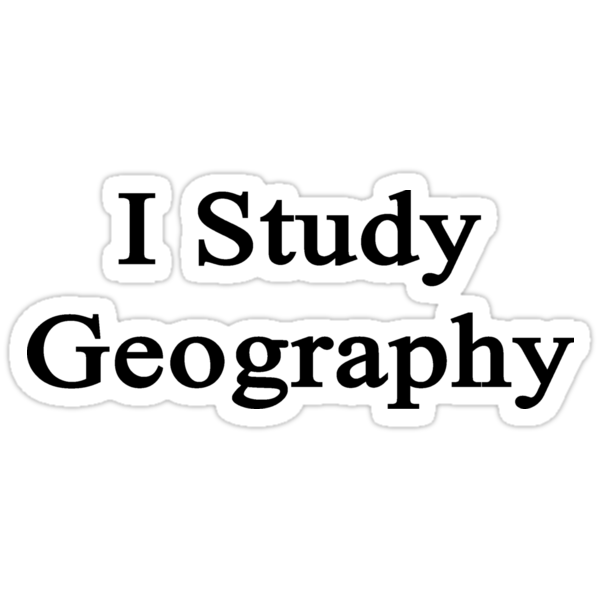 I Study Geography by supernova23