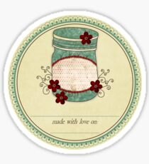 "Gram's Jams ""Made With Love"" Label Sticker"