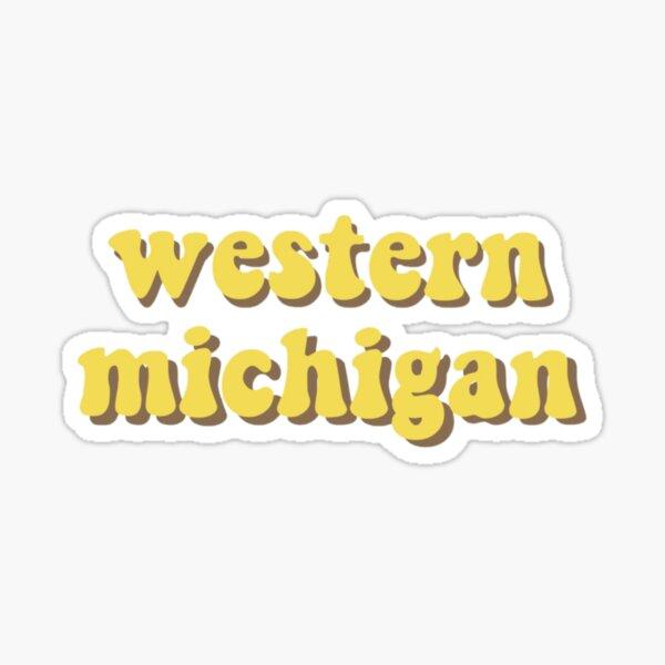 western michigan Sticker