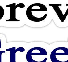 Forever Greek Sticker