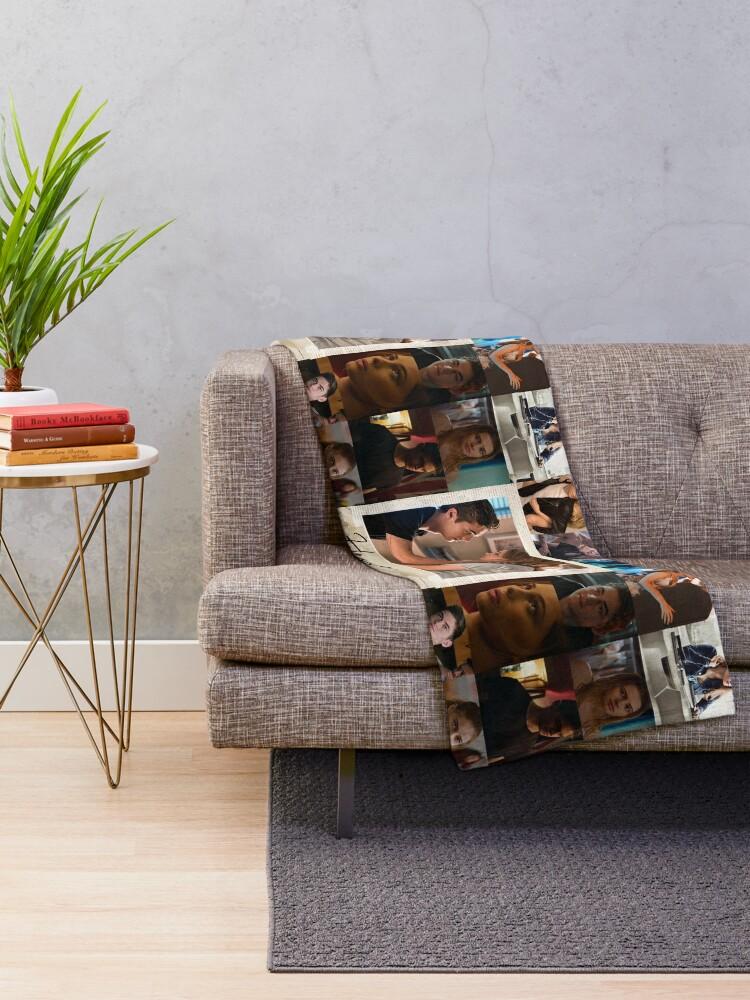 Alternate view of Hessa Collage Throw Blanket
