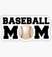 Pegatina Mamá de béisbol