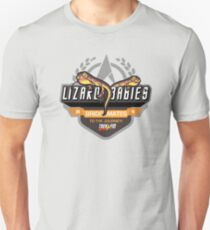 Trek.fm Team Lizard Babies (Light) Unisex T-Shirt