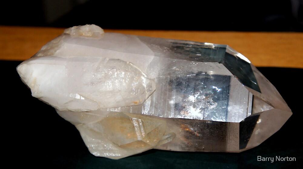 Clear Quartz Crystal  1.2Kg by Barry Norton
