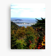 Cabot Trail Vista Canvas Print