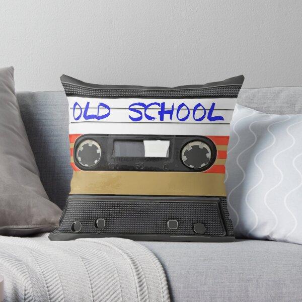 Old school music Throw Pillow