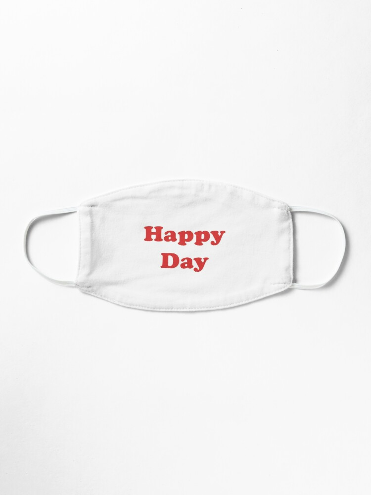 Alternate view of Happy Day Mask