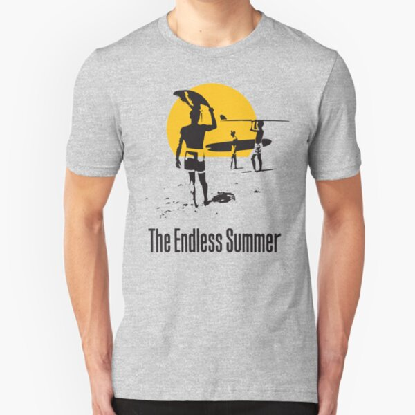 Endless Summer, 1966 Surf Sport Documentary Poster, Artwork, Prints, Posters, Tshirts, Men, Women, Kids Camiseta ajustada