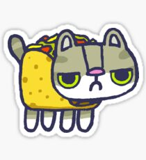 Tacocat is a palindrome Sticker