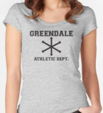 Community Athletic Dept. Women's Fitted Scoop T-Shirt