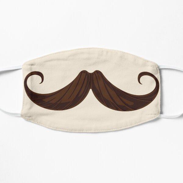Mustache Mask  Flat Mask