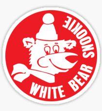 White Bear Snookie - Red Sticker