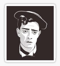 Buster Keaton! STICKER Sticker