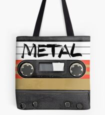 Heavy metal Music band logo Tote Bag