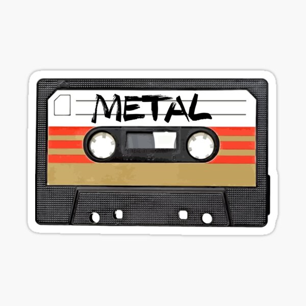 Heavy metal Music band logo Sticker