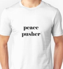 peace pusher b&w Unisex T-Shirt