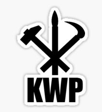 Korean Workers Party Sticker