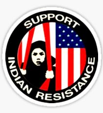 Support Indian Resistance Sticker