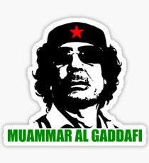 Gaddafi! Sticker