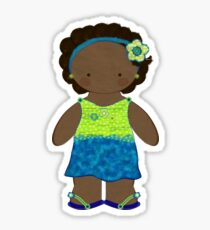 Jasmine Doll Sticker Sticker