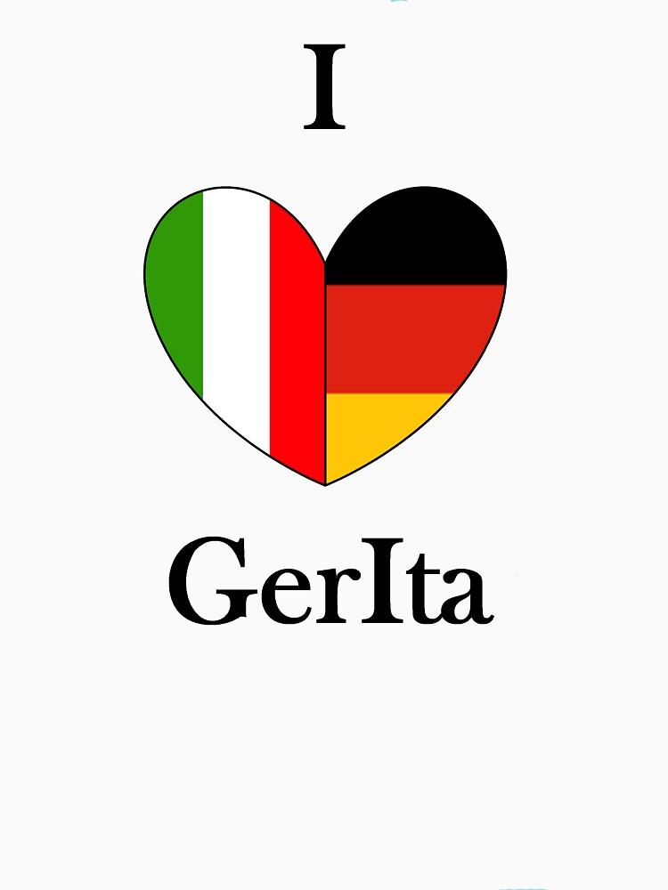 I heart GerIta | Unisex T-Shirt