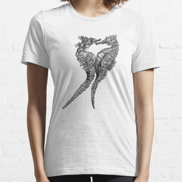Chris and Gladis - Seahorses in love Essential T-Shirt