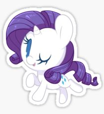 Chibi Rarity Sticker